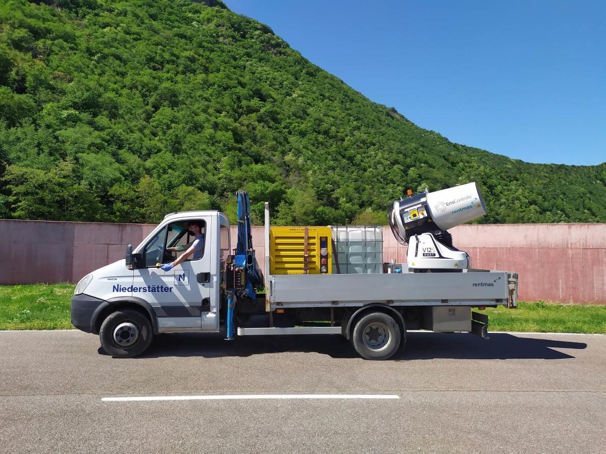 Desinfektions Truck EmiControls - V12S