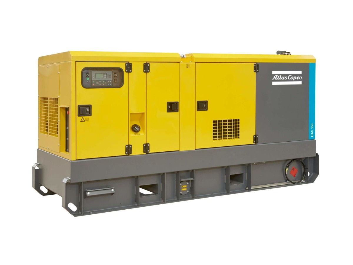 Generatori Atlas Copco - QAS150