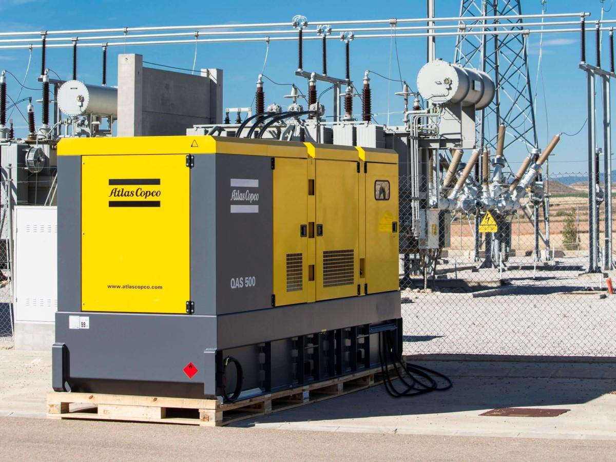Generatori Atlas Copco - QAS500