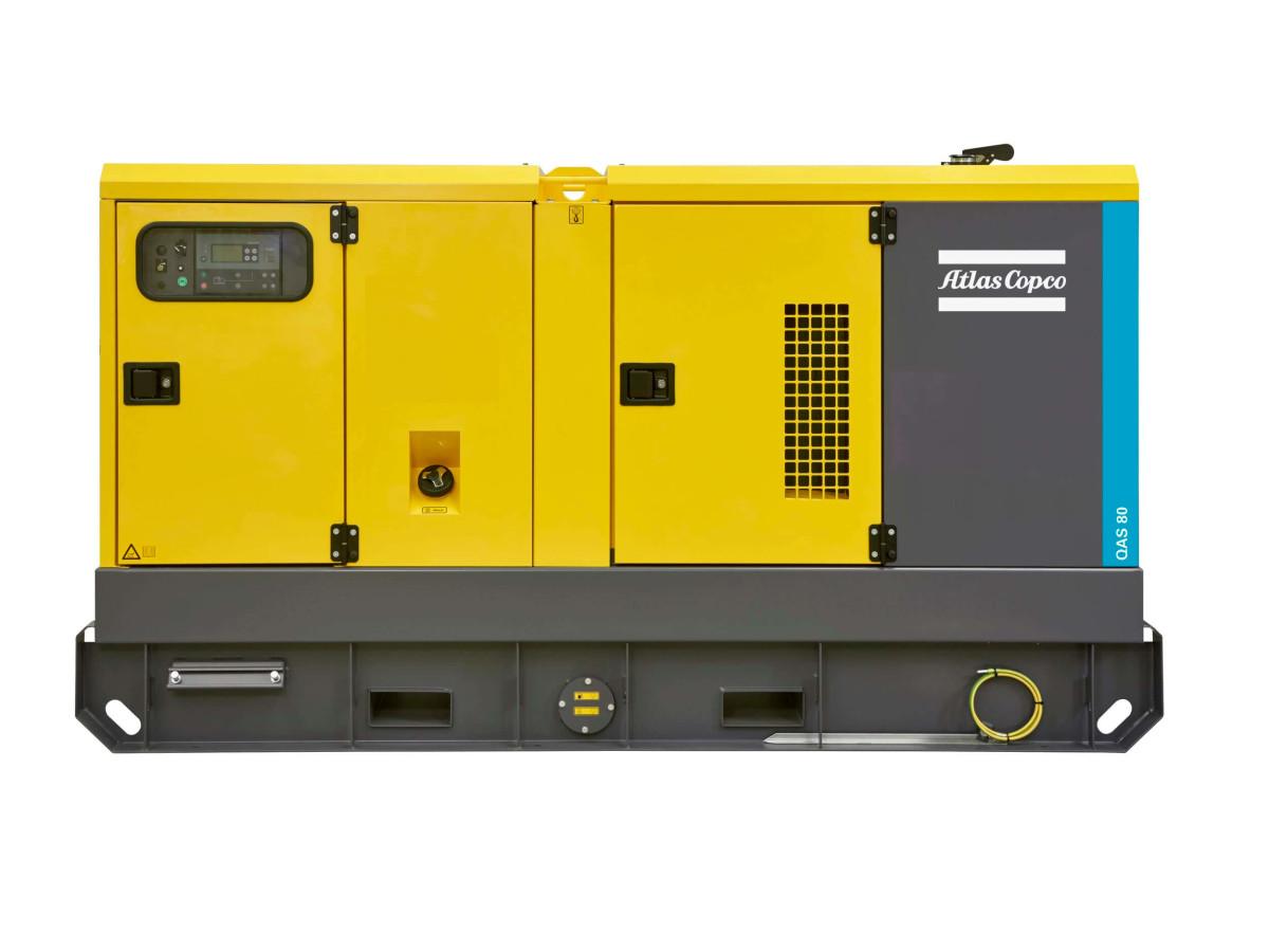 Generatoren Atlas Copco - QAS80