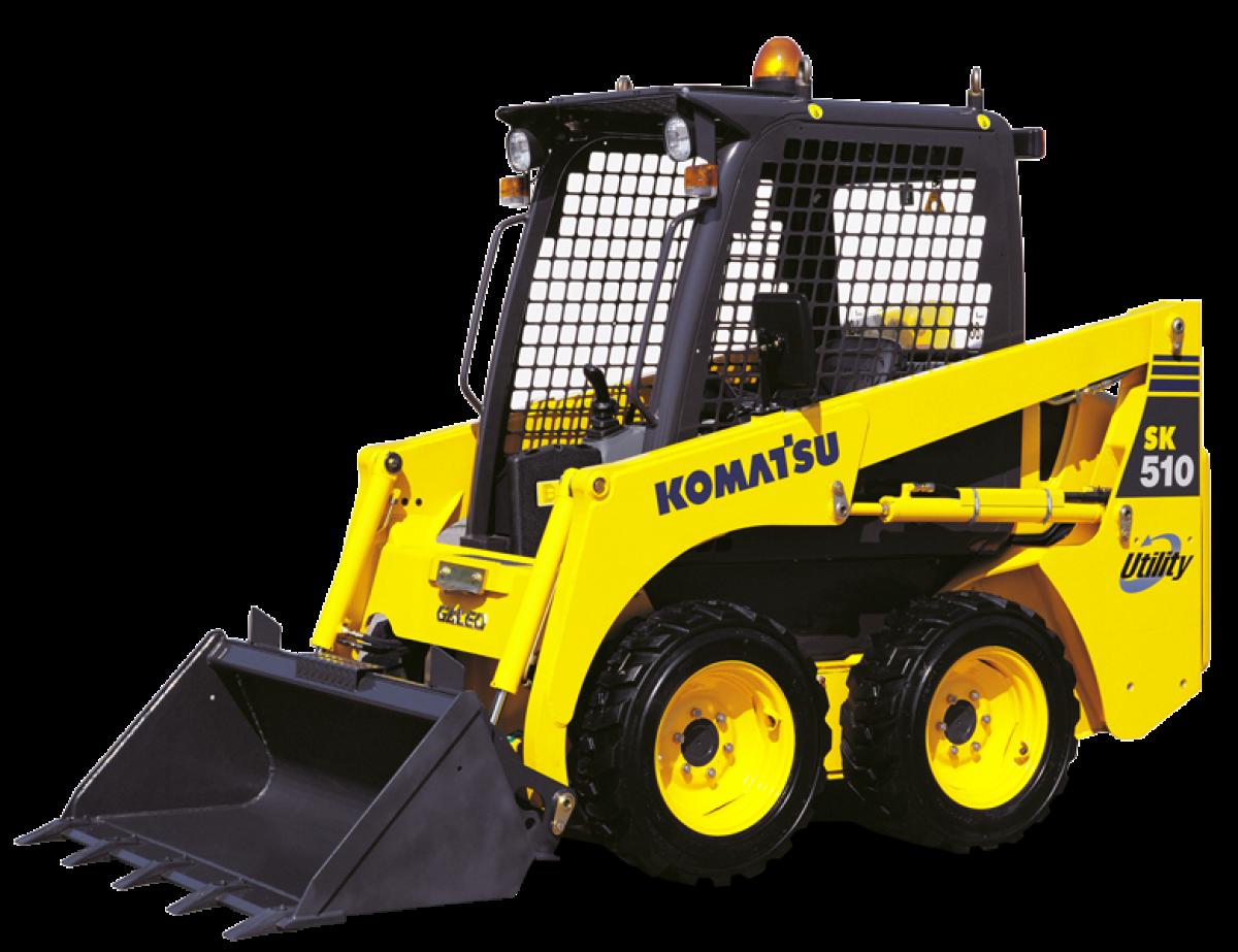 Kompaktlader Komatsu - SK510